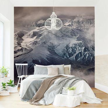 Fototapete - Berge von Tibet