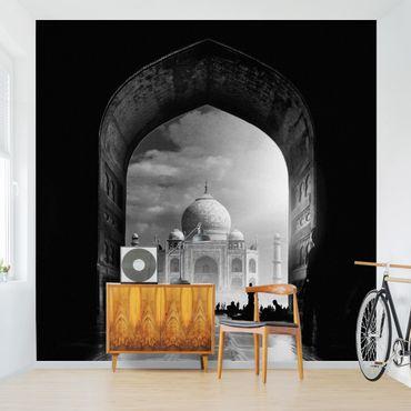 Fototapete - Das Tor zum Taj Mahal