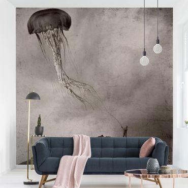 Fototapete - Fliegende Medusa