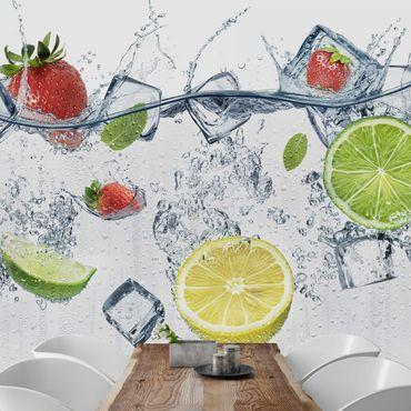 Fototapete Frucht Cocktail