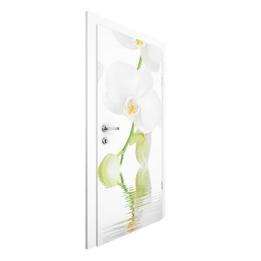 Türtapete - Wellness Orchidee