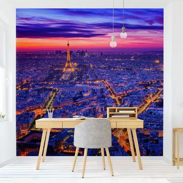 Fototapete - Paris bei Nacht