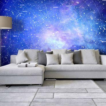 Fototapete Sternbild Himmelkarte