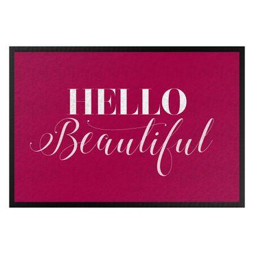 Fußmatte - Hello Beautiful