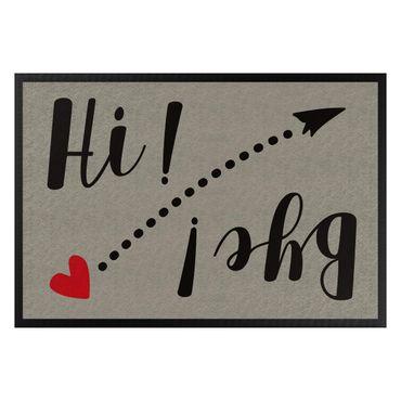 Fußmatte - Hi Bye
