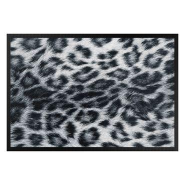 Fußmatte - Schneeleopard