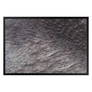 Fußmatte - Wolfspelz