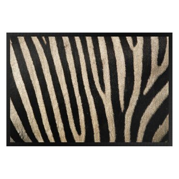 Fußmatte - Zebrafell