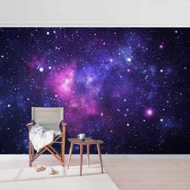 Metallic Tapete  - Galaxie