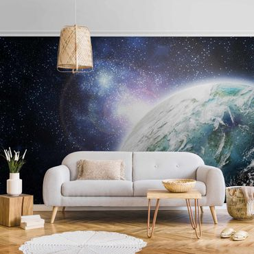 Metallic Tapete  - Galaxy Light