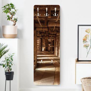 Garderobe - Alte Goldmine - Braun