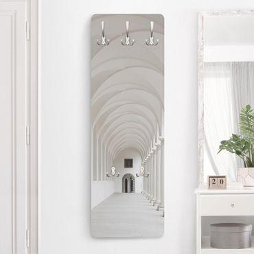 Garderobe - Arkaden - Weiß