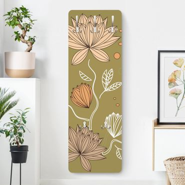 Garderobe - Art Nouveau Flower - Landhaus