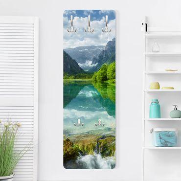 Garderobe - Bergsee mit Spiegelung