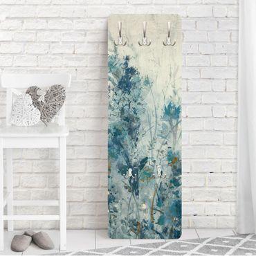 Garderobe - Blaue Frühlingswiese I