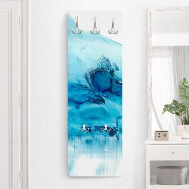 Garderobe - Blaue Strömung II