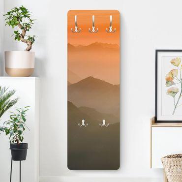 Garderobe - Blick von der Zugspitze - Orange