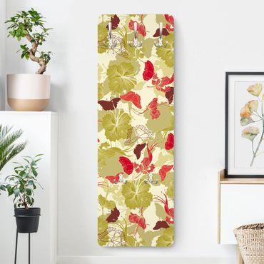 Garderobe Blumen - Asiatischer Morgen - Modern