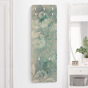 Garderobe Blumen - Eisblumen - Modern