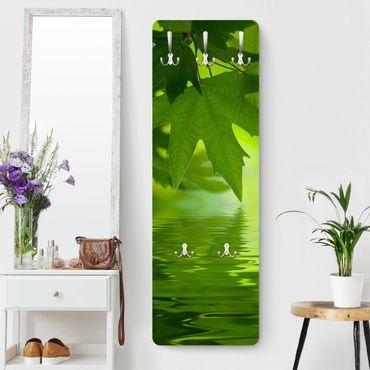 Garderobe Blumen - Green Ambiance III - Grün