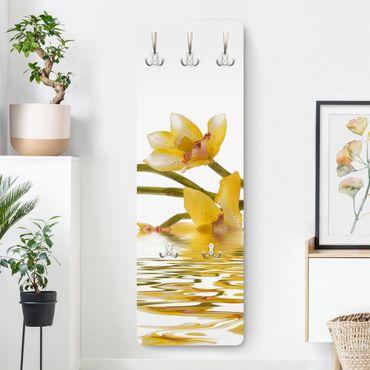 Garderobe Blumen - Saffron Orchid Waters - Gelb