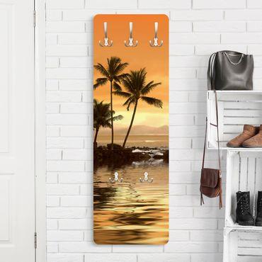 Garderobe - Caribbean Sunset I - Orange