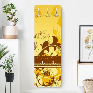 Garderobe - Cherry Blossom II - Gelb