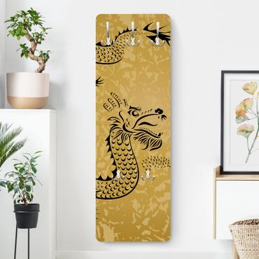 Garderobe - Chinese Dragon - Beige