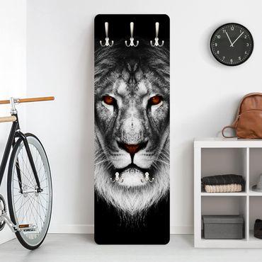Garderobe - Dark Lion II - Schwarz