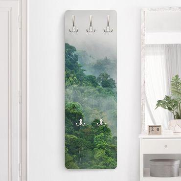 Garderobe - Dschungel im Nebel