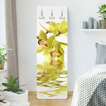 Garderobe - Elegant Orchid Waters - Weiß Gelb