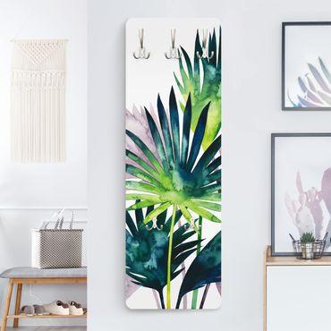 Garderobe - Exotisches Blattwerk - Fächerpalme