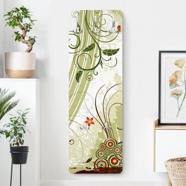 Garderobe - Frühlingszeit - Landhaus Grün