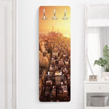 Garderobe - Goldene Stadt - Orange