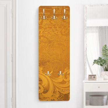Garderobe - Goldener Barock - Gelb