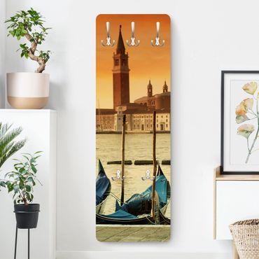 Garderobe - Gondeln in Venedig - Orange