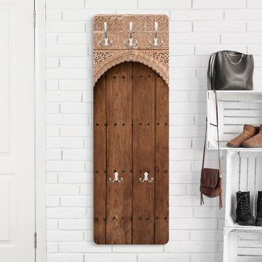 Garderobe - Holztor aus dem Alhambra Palast
