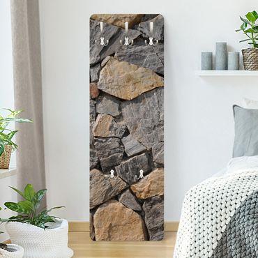 Garderobe in Steinoptik - Granitic Wall - Modern