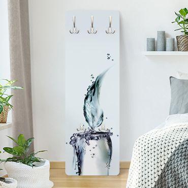 Garderobe - Kalte Flamme - Weiß