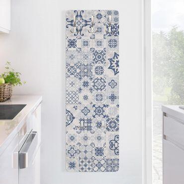 Garderobe - Keramikfliesen Agadir blau