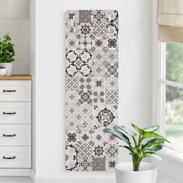 Garderobe - Keramikfliesen Agadir grau