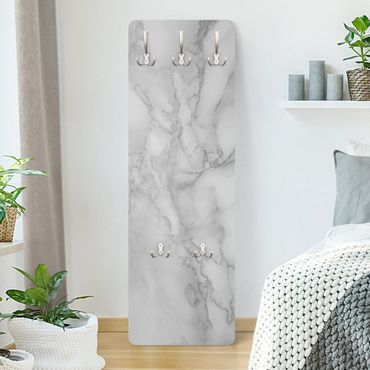 Garderobe - Marmoroptik Schwarz Weiss