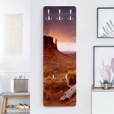 Garderobe - Monument Valley bei Sonnenuntergang - Orange
