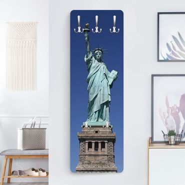 Garderobe New York - Statue of Liberty - Blau