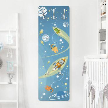 Garderobe - No.MW16 Buntes Weltraumtreiben