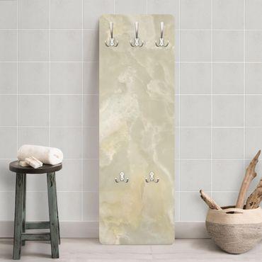 Garderobe - Onyx Marmor Creme