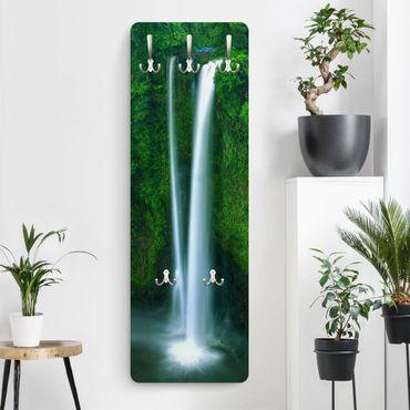 Garderobe - Paradiesischer Wasserfall - Grün