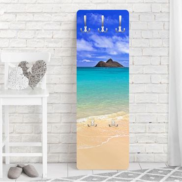 Garderobe - Paradise Beach - Blau