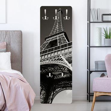 Garderobe Paris - Eiffelturm - Schwarz