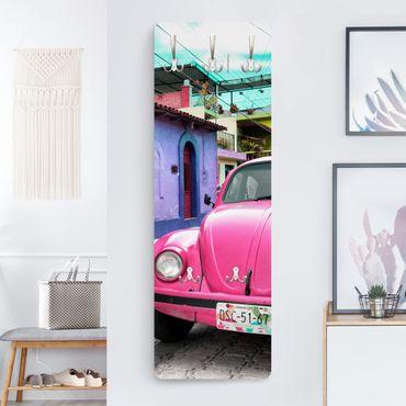 Garderobe - Pink VW Beetle - Auto